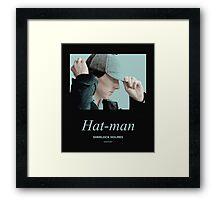 Hat-man, Sherlock Holmes Framed Print