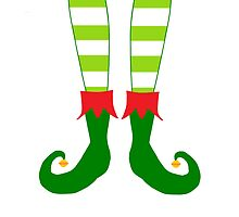 Christmas Elf Feet by BeachBumFamily