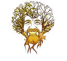 World's Happiest Little Tree Photographic Print