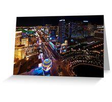 Las Vegas Boulevard Greeting Card