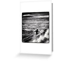 Speed Surfer Greeting Card