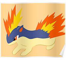 Quilava (pokemon) Poster