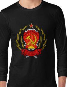 CCCP coat of arms Long Sleeve T-Shirt