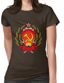 CCCP coat of arms Womens Fitted T-Shirt