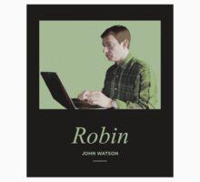 Robin, John Watson  One Piece - Short Sleeve