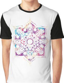 Watercolor Mandala Graphic T-Shirt