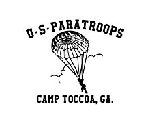 Camp Toccoa PT Shirt Photographic Print
