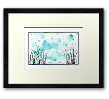 Go Away, Reality Framed Print