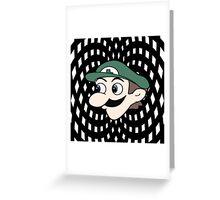 Hypnotic WeeGee Greeting Card