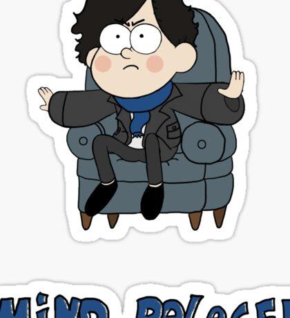 Sherlock Gravity Falls Sticker