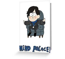 Sherlock Gravity Falls Greeting Card
