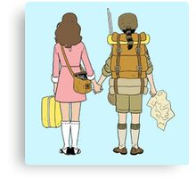 Moonrise Kingdom - Suzy & Sam Canvas Print