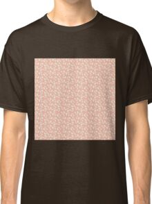 Pink and Cream Blossoms - Calico Flowers Classic T-Shirt