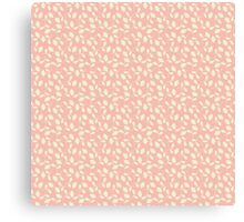 Pink and Cream Blossoms - Calico Flowers Canvas Print