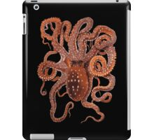 Orange Octopus iPad Case/Skin