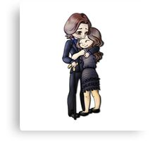 Once Upon A Time Rumbelle Canvas Print