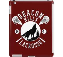 Beacon Hills Wolf Lacrosse iPad Case/Skin