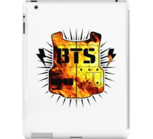 BTS Fire Logo iPad Case/Skin