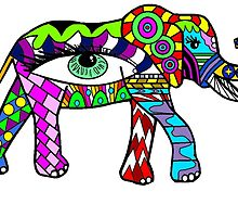 World Of Color Elephant by FlyingDreamer