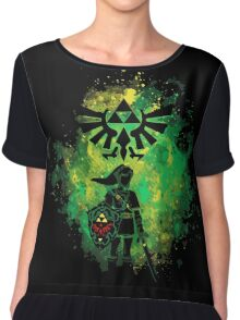 Legend of Zelda - Hyrule Warrior Chiffon Top