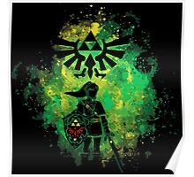 Legend of Zelda - Hyrule Warrior Poster