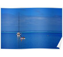 Sailing the Yasawa Islands Poster