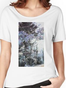 A Fall Sunset Digitized Into A Winter Morning Women's Relaxed Fit T-Shirt