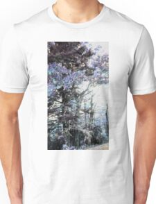 A Fall Sunset Digitized Into A Winter Morning Unisex T-Shirt