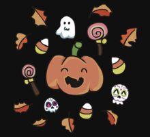 Halloween Doodles Kids Tee
