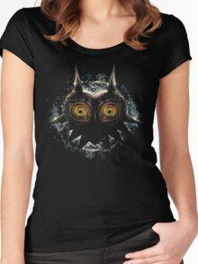 Legend of Zelda - Majora's Mask (Shady) Women's Fitted Scoop T-Shirt