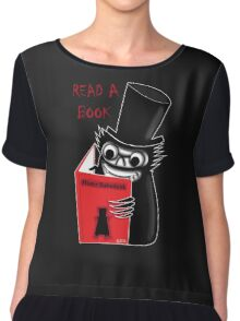 Read a Book with Mr. Babadook Chiffon Top