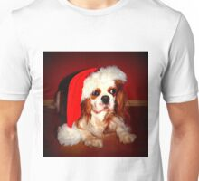 CKCS in Santa hat Unisex T-Shirt