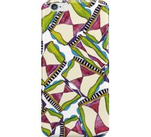 abstract hourglass on stage iPhone Case/Skin