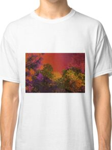 Psychedelic Forest V Classic T-Shirt