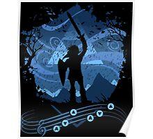 Legend of Zelda - Song of Storm Poster