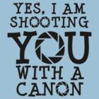 Shooting with a Canon by Stephen Mitchell