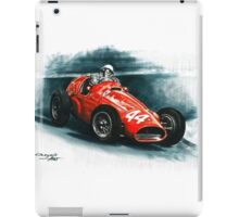 1955 Ferrari 625 F1 iPad Case/Skin