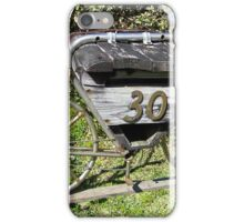 Old Stagecoach Box iPhone Case/Skin