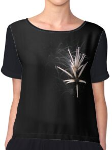 Fireworks Background - Independence Day Celebrations - Party Time Explosions Chiffon Top