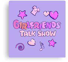 Girlfriends Talk Show Canvas Print