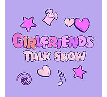 Girlfriends Talk Show Photographic Print