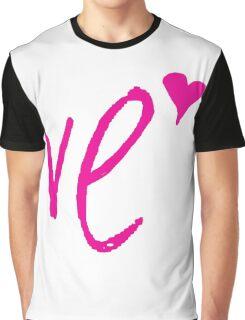 """LO - VE """" Design Couple"""" Graphic T-Shirt"""