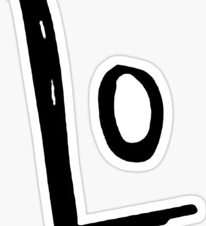 """LO - VE """" Design Couple"""" Sticker"""