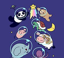 Space Animals! by SaradaBoru