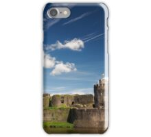 Caerphilly Castle, Wales. iPhone Case/Skin