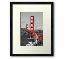 The Golden Gate Bridge Framed Print