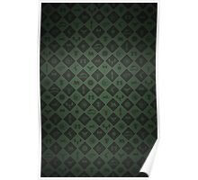 House Sigil Pattern (Green) Poster