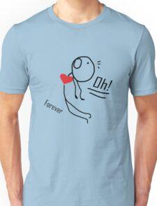 "our love story ""design couple""  Unisex T-Shirt"
