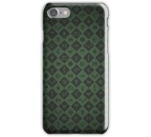 House Sigil Pattern (Green) iPhone Case/Skin