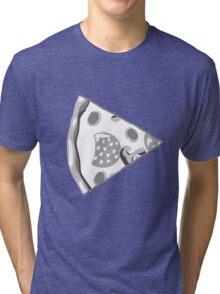 """pizza part """"design couple"""" Tri-blend T-Shirt"""